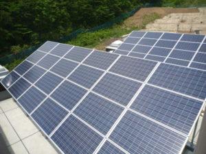 泉岳少年自然の家改築太陽光発電設備工事